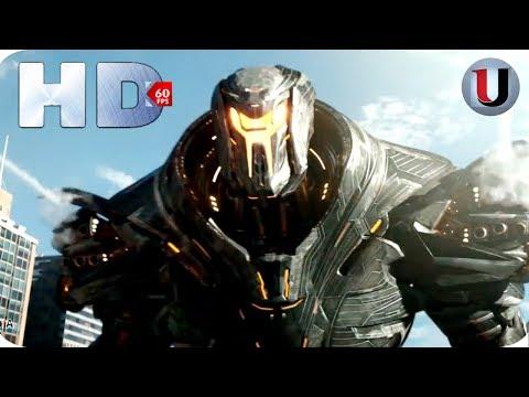 Pacific Rim Uprising - Gipsy Avenger Vs Rouge Jaeger Obsidian - 2018 MOVIE CLIP (FULL HD)