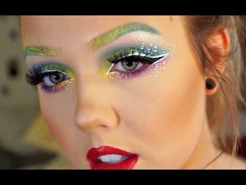 RAINBOW MAKEUP TUTORIAL || GET READY WITH ME DALLAS PRIDE ...