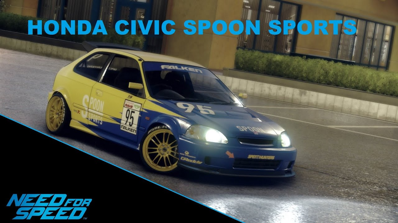need for speed 2015 honda civic spoon sports youtube. Black Bedroom Furniture Sets. Home Design Ideas