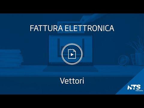 Fattura elettronica: tabelle - Vettori