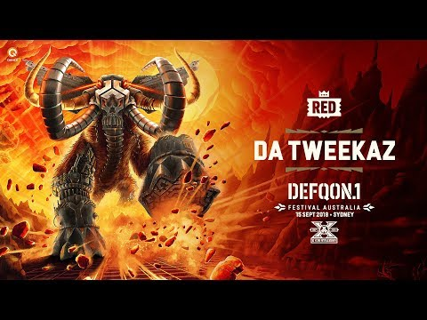The Colours of Defqon.1 Australia 2018 | RED Mix by Da Tweekaz