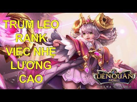 Trùm Leo rank việc nhẹ lương cao ALICE - Học chơi ngay để leo rank dễ dang không cay cú Pb Tết