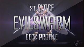 Card Rush 1st Place Evilswarm Deck Profile July 2014