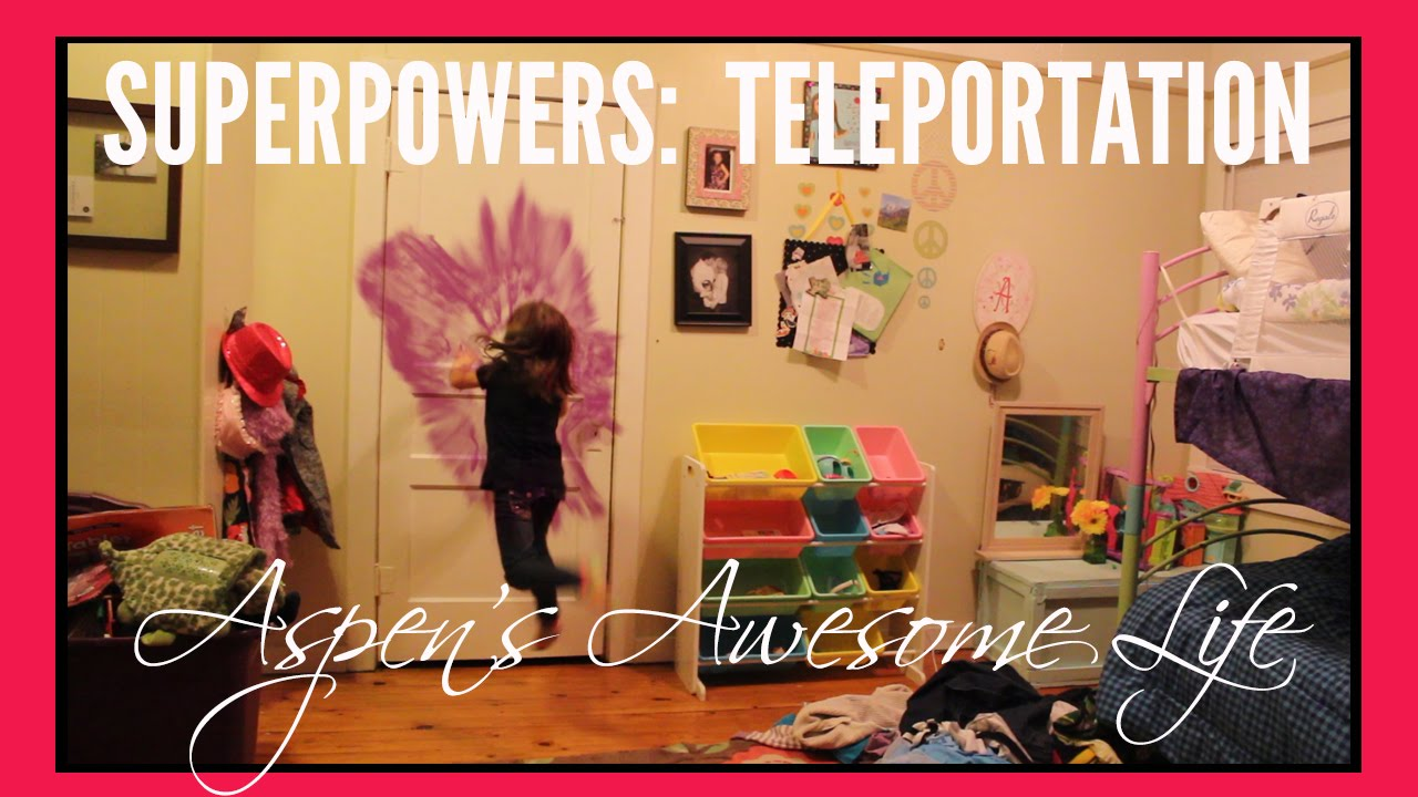 How to Teleport! Aspen's Teleportation Superpower