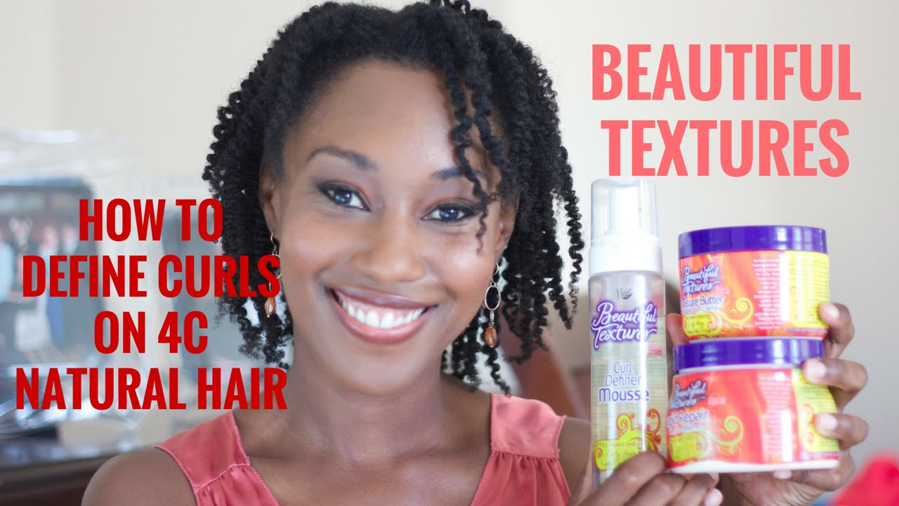 Wash Routine How To Define 4c Hair Curls Youtube