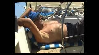 Alleine (Einhand-) Segeln in der Aegeais in Griechenland, -HEIMWAERTS- eine Videoreportage