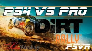 Dirt Rally for PSVR - PS4 Vs PS4 Pro