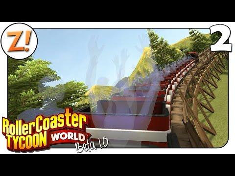 Rollercoaster Tycoon World [BETA]: Unsere erste Achterbahnfahrt #2 | Let's Play ★ [GERMAN/DEUTSCH]