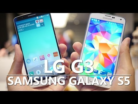 LG G3 vs Samsung Galaxy S5: quick look