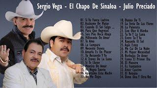 Viejitas canciones romanticas Sergio Vega, El Chapo De Sinaloa, Julio Preciado - EXITOS SUS MEJORES