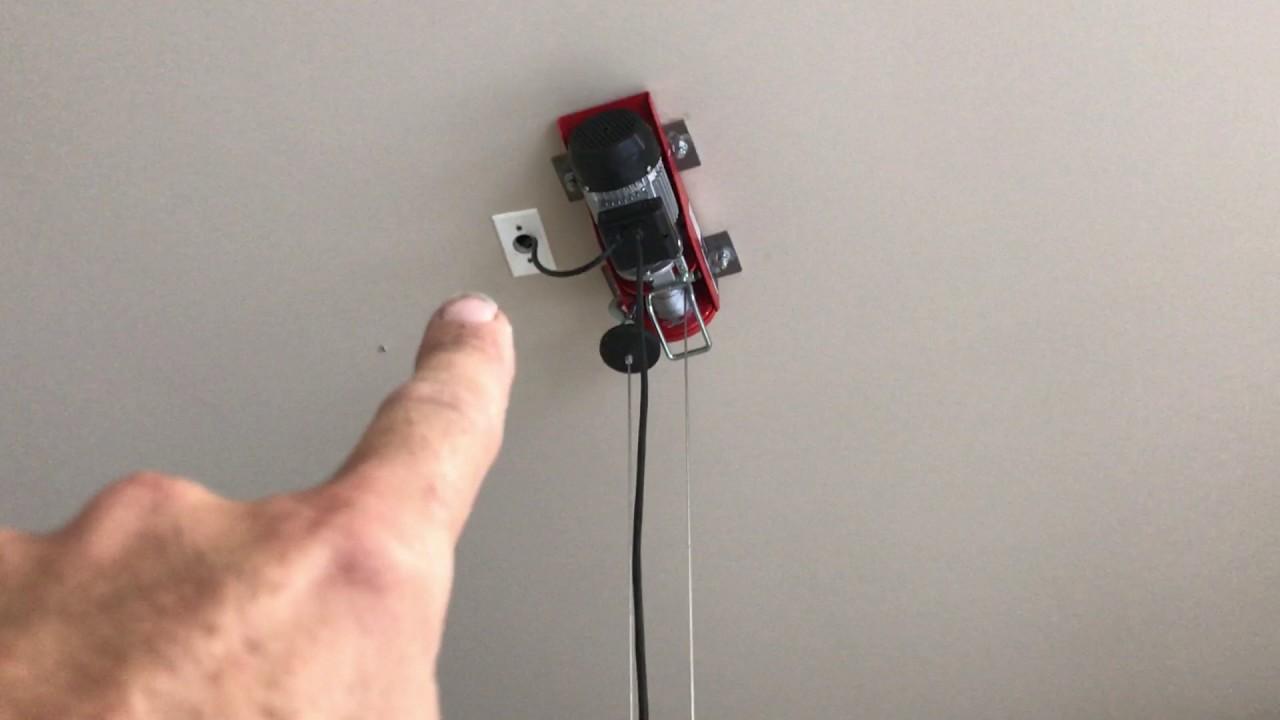 Jeep hard top hoist/lift