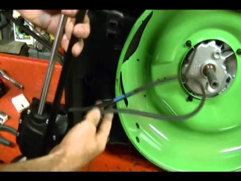 How To Replace The Belt And Route Cable On A Rear Wheel