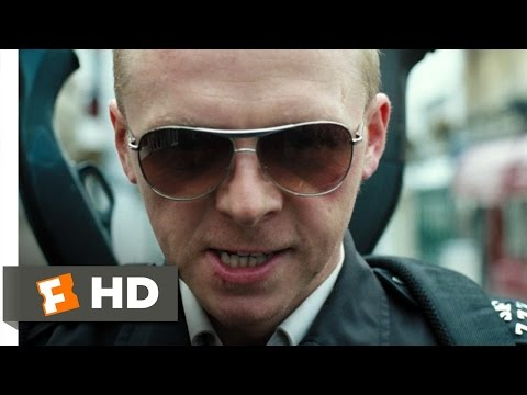 Hot Fuzz (7/10) Movie CLIP - The Battle For Sandford Begins (2007) HD
