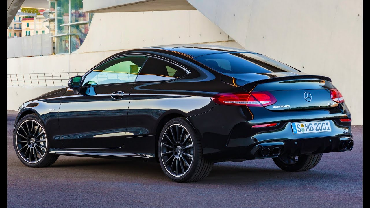2019 AMG C 43 4MATIC Coupé - Beauty Shots & Driving scenes - YouTube