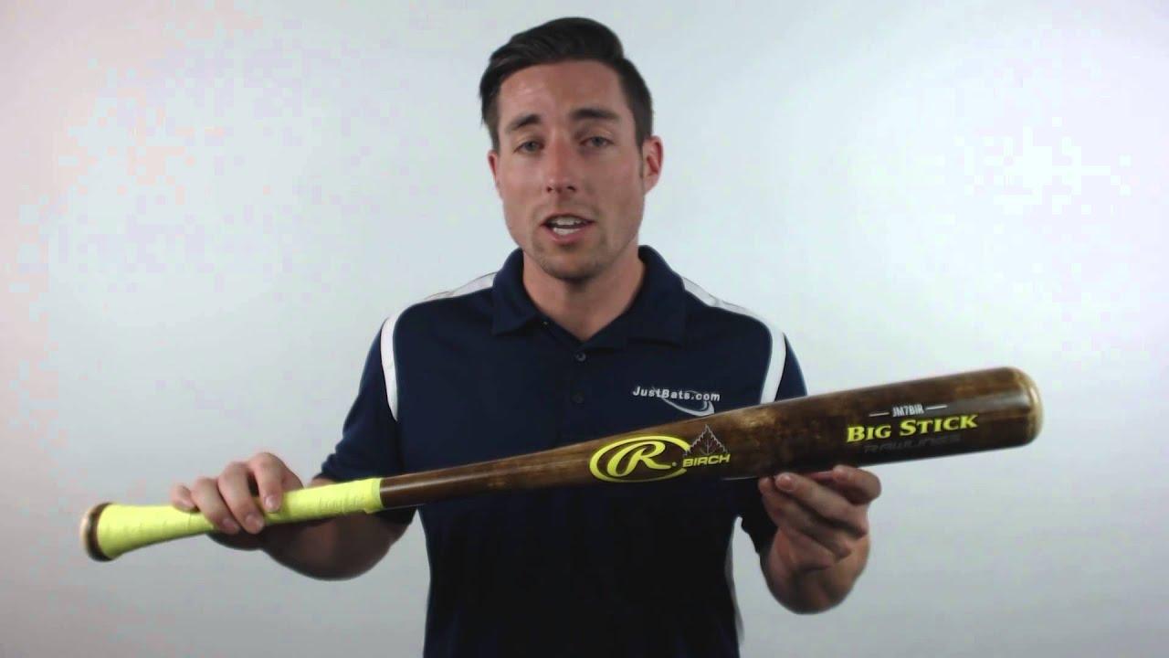 2015 Rawlings Big Stick Birch Wood Baseball Bat: JM7BIR
