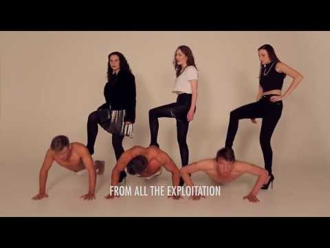 """""""Defined Lines"""" Subtitled Version [Feminist Parody - """"Blurred Lines"""" by Robin Thicke]"""