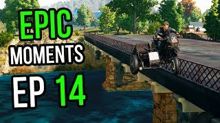 PUBG: Epic \u0026 Lucky Moments Ep. 14