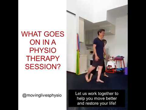 What goes on in a Physiotherapy session?