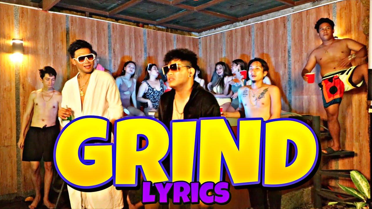 GRIND LYRICS VIDEO - JONAHRENZ X JM (BRUSKO BROS.)