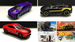 HOT WHEELS 2018 Cars, Mini GT, Mystery models Series 3 list and more