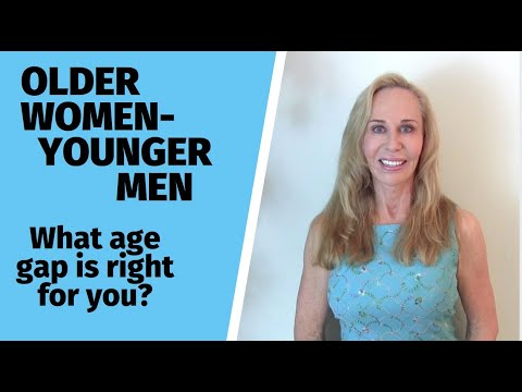 Older Women/Younger Men: What Age Gap Is Right For You?— Susan Winter