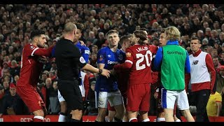 NEW Football Fights- Dives- Red Cards- 20171018