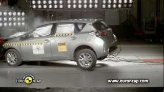 Euro NCAP | Toyota Auris | 2013 | Crash test