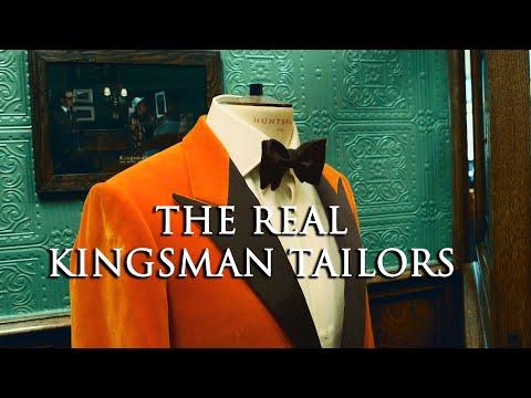 The Real Kingsman Tailors 🤵: Huntsman Savile Row | Kirby Allison