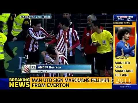 More On Manchester United's Signings Marouane Fellaini & Fabio Coentrao Live From old Trafford