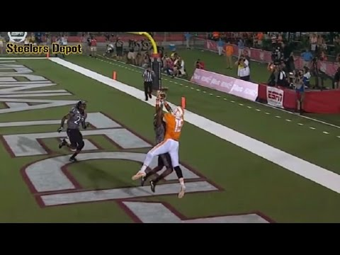 Steelers QB Joshua Dobbs - 2016 Tennessee Touchdown Passes - Part 1