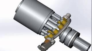 Moteur Hydraulique axial