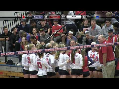 Frontier Regional School Volleyball vs Turners  DIII Western Mass Semi FINAL Nov 8th REMASTERED