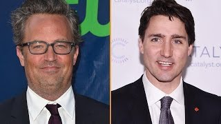 Why Everyone's Talking About Matthew Perry & Canadian Prime Minister Justin Trudeau