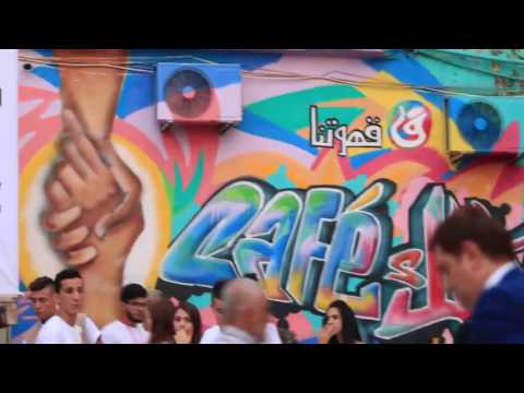 Opening of Tripoli's Cultural Blast Festival 2016 - MARCH October 22&23, 2016
