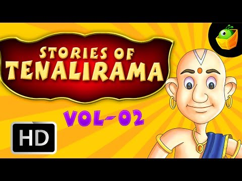 Tenali Raman Full Stories Vol 2 In English (HD) - Compilation of Cartoon/Animated Stories For Kids