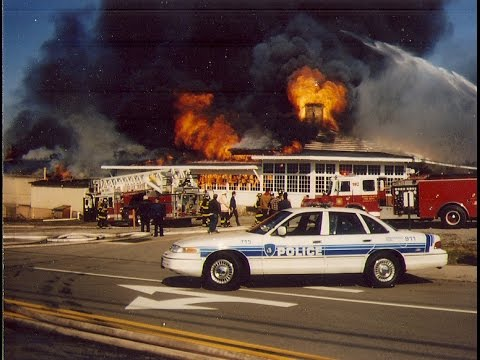 Rochester New York Seabreeze Carousel Fire on March 31, 1994