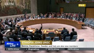 CGN : Ethiopia Begins Two-year Term Serving on UN Security Council