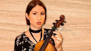 Easiest Way To Aṗply Violin Finger Tapes