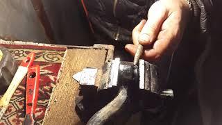 замена сайлентблоков рулевых тяг сенс, ланос, опель.