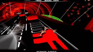 Atari Teenage Riot - Too dead for me - Audiosurf enhanced 1080P