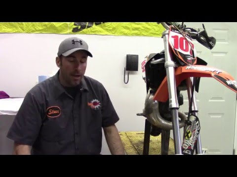 How to change the Fork Seals on a KTM 65 SX Motocross Bike