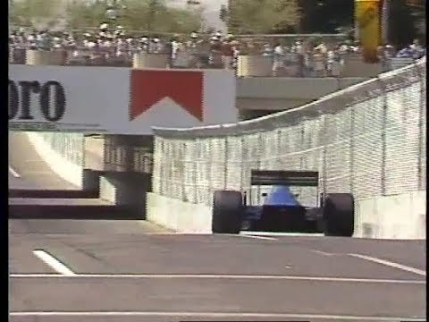 News Story About First Phoenix F1 Race -1989
