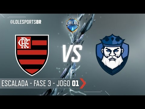 CBLoL 2018: Flamengo x CNB (Jogo 1)   Escalada - 3ª Etapa