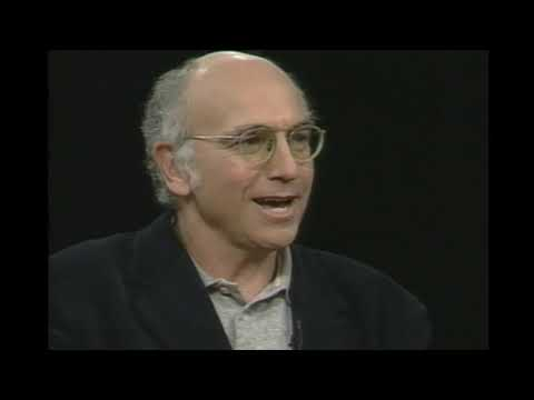 Larry David interviewed by Charlie Rose 1998