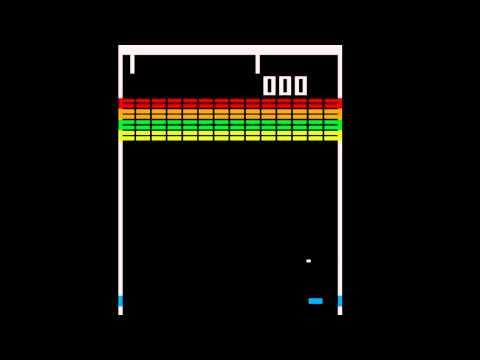 Breakout - (1976) - Arcade - gameplay HD