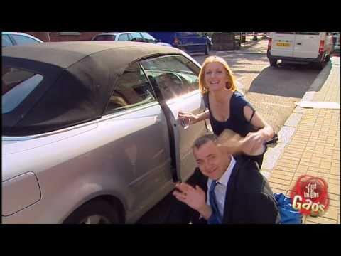 Hand Stuck In Car Door Prank Youtube