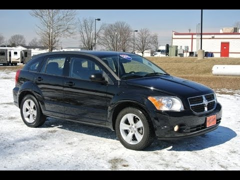 2012 dodge caliber sxt black for sale dealer dayton troy piqua sidney ohio cp13807 youtube. Black Bedroom Furniture Sets. Home Design Ideas