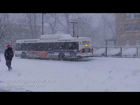 Chicago, IL Lake Effect Snows - 3/14/2017
