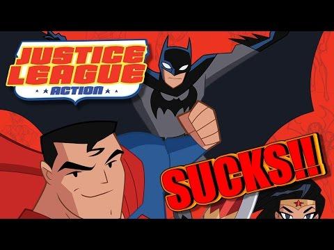Justice League Action SUCKS!