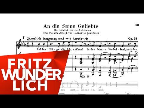 An die ferne Geliebte - Fritz Wunderlich - Beethoven